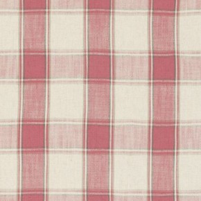 Clarke and Clarke Fairmont Montrose Raspberry Curtain Fabric