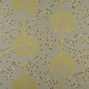 Prestigious Textiles Eden Moonseed Chartreuse Curtain Fabric