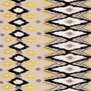 Clarke and Clarke Nomad Ochre Curtain Fabric