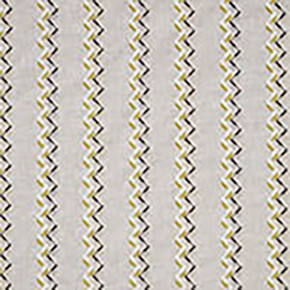 Clarke and Clarke Oslo Norah Chartreuse Charcoal Curtain Fabric