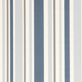 Clarke and Clarke Astrid Nova Sky Curtain Fabric