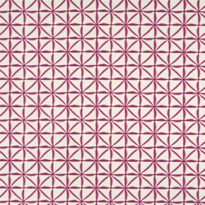 Clarke and Clarke Batik Nusa Raspberry Roman Blind