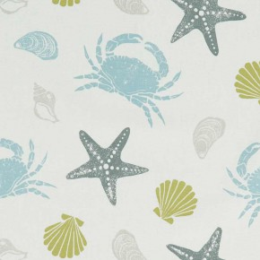 A Land & Sea Offshore Mineral  Curtain Fabric