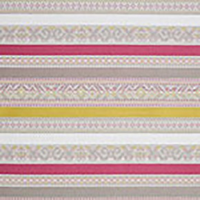 Clarke and Clarke Oslo Ommel Fuchsia Apple Curtain Fabric