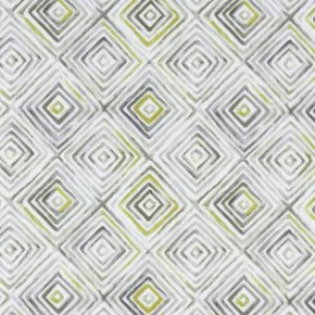 Studio G Palmero Otis Chartreuse/Charcoal Curtain Fabric