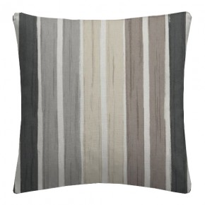 Clarke and Clarke Folia Albi Charcoal Cushion Covers