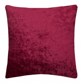 Clarke and Clarke Allure Claret Cushion Covers