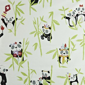 Prestigious Textiles Playtime Panda Bamboo Made to Measure Curtains