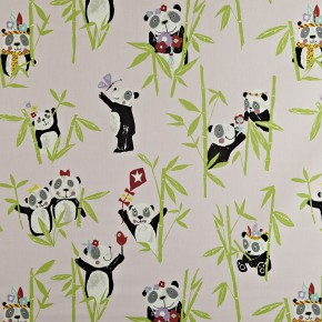 Prestigious Textiles Playtime Panda Prettypink Made to Measure Curtains
