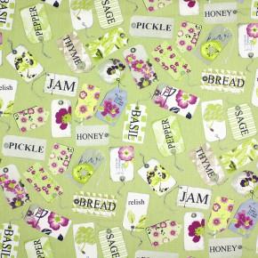 Prestigious Textiles Pickle Pantry Lavender Curtain Fabric