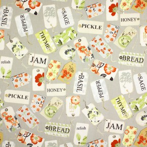 Prestigious Textiles Pickle Pantry Paprika Curtain Fabric