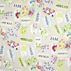 Prestigious Textiles Pickle Pantry Vintage Curtain Fabric