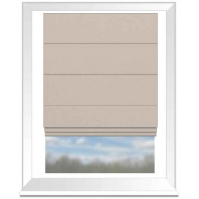 Clarke and Clarke Altea Parchment Roman Blind
