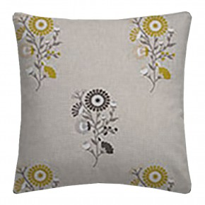 Clarke and Clarke Oslo Arla Chartreuse Charcoal Cushion Covers