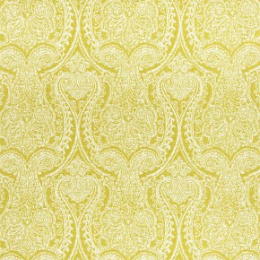 Clarke and Clarke Halcyon Pastiche Chartreuse Curtain Fabric