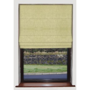 Dimensions Patina Citrus Roman Blind