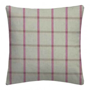 Clarke and Clarke Glenmore Aviemore Fuchsia Cushion Covers