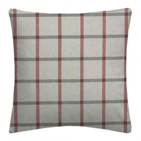 Clarke and Clarke Glenmore Aviemore Red Cushion Covers