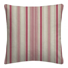 Clarke and Clarke Genevieve Belle Raspberry Cushion Covers