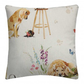 A Village Life  Best Of Friends  Cream  Cushion