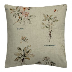 Clarke and Clarke Countryside Botanist Linen Cushion Covers