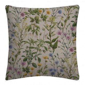 Country Garden Buttercup Linen Cushion Covers