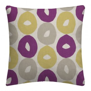 Clarke and Clarke La Vie Byblos Berry Cushion Covers