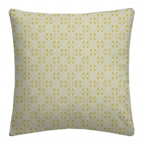 Clarke and Clarke  Colony Cabana Citron Cushion Covers