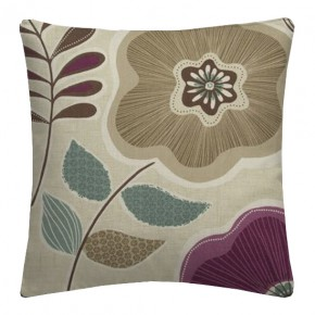 Clarke and Clarke Cariba Calypso Heather Cushion Covers