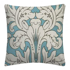 Clarke and Clarke Chateau Chateau Aqua Cushion Covers
