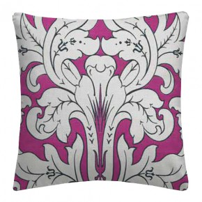 Clarke and Clarke Chateau Chateau Fuchsia Cushion Covers