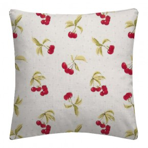 Clarke and Clarke Blighty Cherries Chintz Cushion Covers