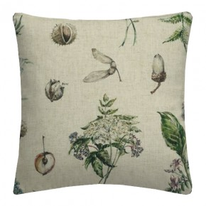 Clarke and Clarke Countryside Chestnut Linen Cushion Covers