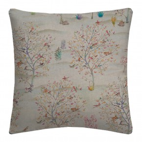 Country Garden Coppice Summer Linen Cushion Covers