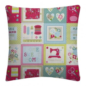 Clarke and Clarke Sketchbook Craftwork Multi Cushion Covers
