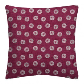 Clarke and Clarke Cariba Daiquiri Raspberry Cushion Covers