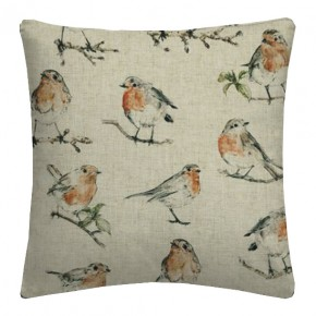 Clarke and Clarke Countryside DawnChorus Linen Cushion Covers