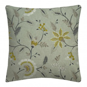 Clarke and Clarke Halcyon Delamere Chartreuse Cushion Covers