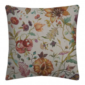 Country Garden Delilah Spice Linen  Cushion Covers