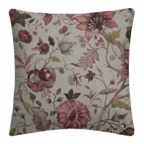 Country Garden Delilah Winterberry Linen Cushion Covers