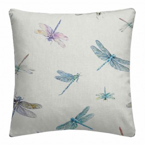 A Village Life  Dragon Flies  Cream  Cushion