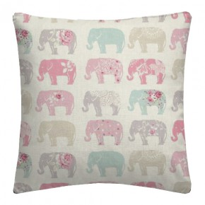 Clarke and Clarke Blighty Elephants Pastel Cushion Covers