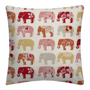 Clarke and Clarke Blighty Elephants Spice Cushion Covers