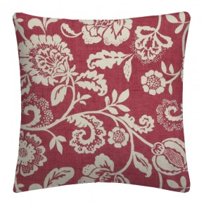 Clarke and Clarke Genevieve Eliza Raspberry Cushion Covers