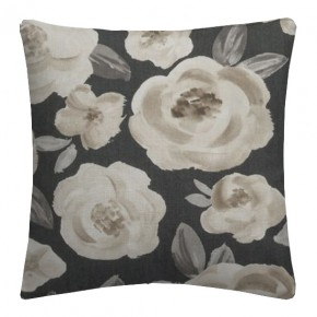 Clarke and Clarke Folia Elodie Charcoal Cushion Covers
