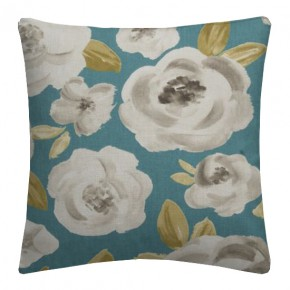 Clarke and Clarke Folia Elodie Teal Cushion Covers