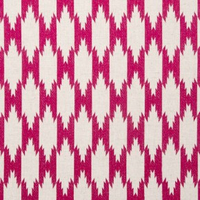 Clarke and Clarke Zanzibar Pemba Fuchsia Curtain Fabric