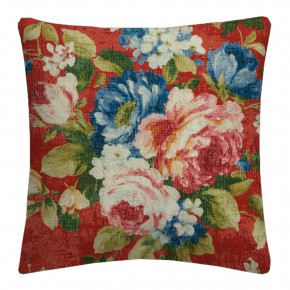Clarke and Clarke  Colony Emeline Rouge Cushion Covers