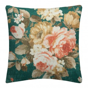 Clarke and Clarke  Colony Emeline Teal Cushion Covers