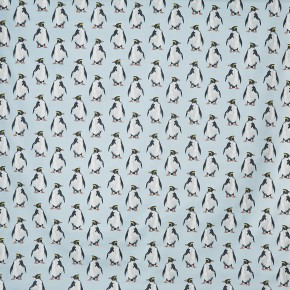 A Prestigious Textiles Beachcomber Penguin Ocean Made to Measure Curtains